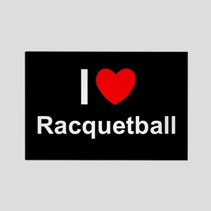 Racquetball Rectangle Magnet