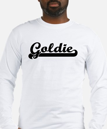Black jersey: Goldie Long Sleeve T-Shirt