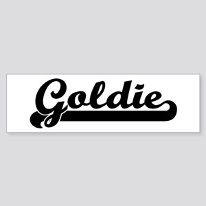 Black jersey: Goldie Bumper Sticker