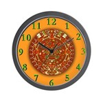 AZTEC STONE TIME Wall Clock