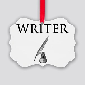 Writer Picture Ornament