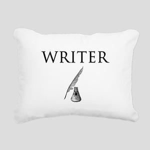 Writer Rectangular Canvas Pillow