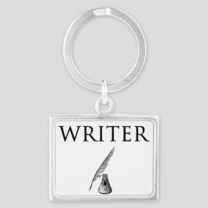 Writer Landscape Keychain