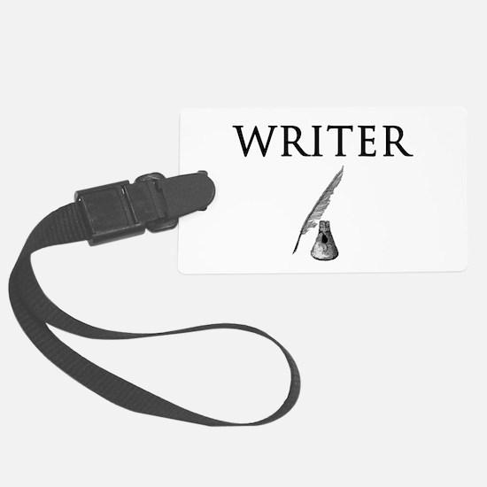 Writer Luggage Tag