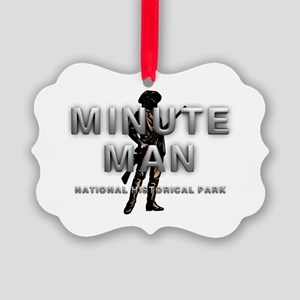 ABH Minute Man Picture Ornament