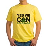 Yes We Can Colorado Yellow T-Shirt
