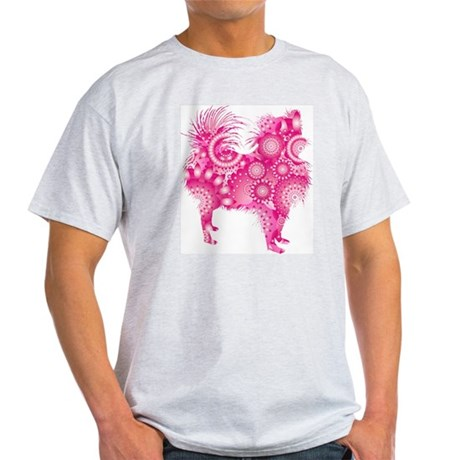 Pomeranian Ash Grey T-Shirt