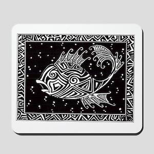 Tribal Fish Mousepad