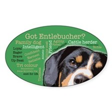 Got Entlebucher? Sticker (Oval)