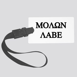 MOLON LABE Large Luggage Tag