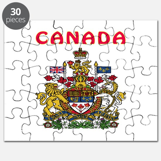 Canada Coat of arms Puzzle