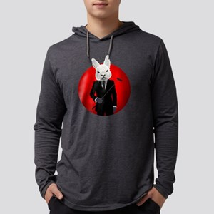 Bunny Suit Mens Hooded Shirt