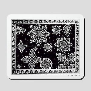 Celtic Snowflakes Mousepad