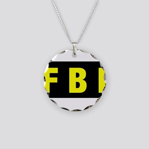 FBI 23 Necklace Circle Charm