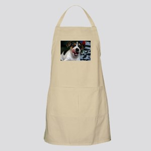 Puppy Licking Lips Apron