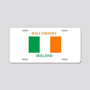 Ballymoney Ireland Aluminum License Plate