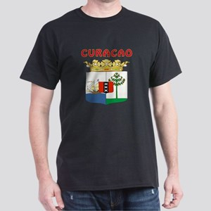 Curacao Coat of arms Dark T-Shirt