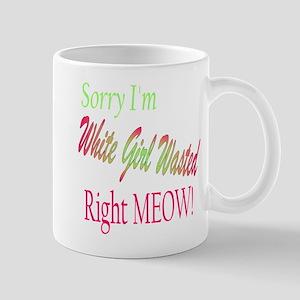 white girl wasted Mug