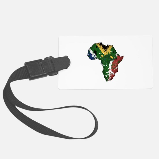 Afrika Graffiti Luggage Tag