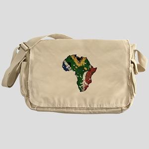 Afrika Graffiti Messenger Bag