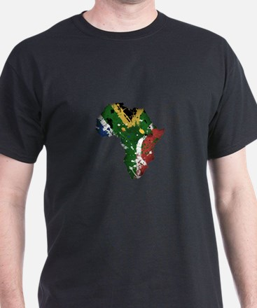 Afrika Graffiti T-Shirt