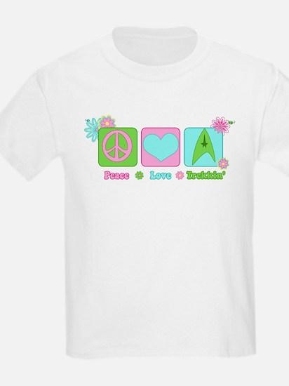 Peace Love Trekkin' T-Shirt