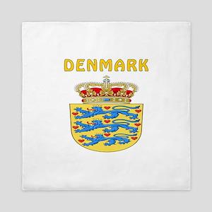 Denmark Coat of arms Queen Duvet