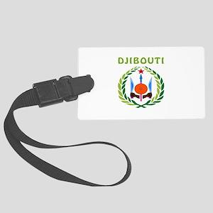Djibouti Coat of arms Large Luggage Tag