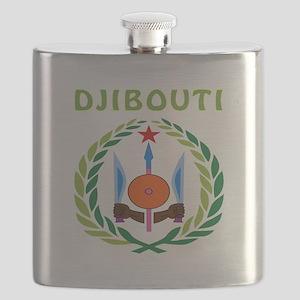Djibouti Coat of arms Flask