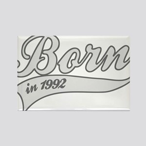 Born in 1992 - Birthday Rectangle Magnet