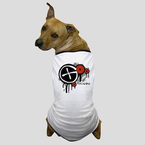 Geocaching Vector Design Dog T-Shirt