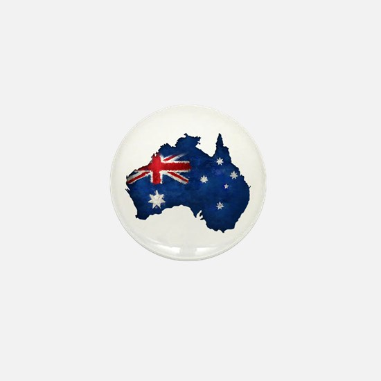 Aussie pride Mini Button