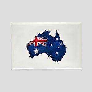 Aussie pride Rectangle Magnet