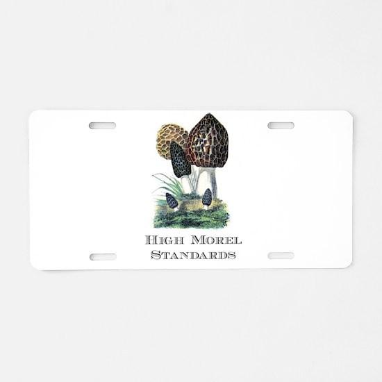 High Morel Standards Aluminum License Plate