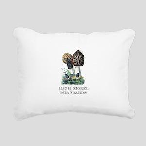 High Morel Standards Rectangular Canvas Pillow