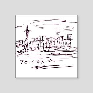 "Toronto Square Sticker 3"" x 3"""