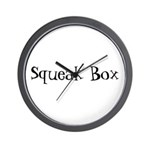 Squeak Box Wall Clock