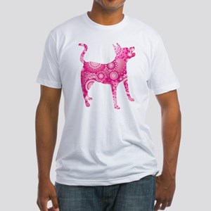 Mountain Feist Fitted T-Shirt