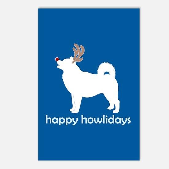 "Alaskan Malamute ""Happy Howli Postcards (Package o"