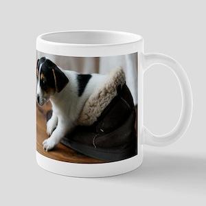 Puppy in Ugg Boot Mug