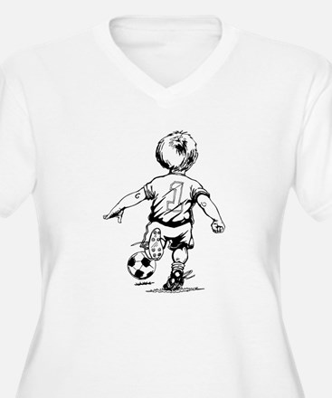 Little Soccer Player T-Shirt