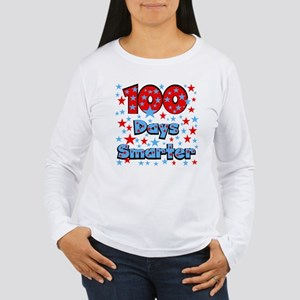 100 Days Smarter Women's Long Sleeve T-Shirt