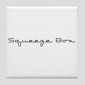 Squeeze Box Tile Coaster
