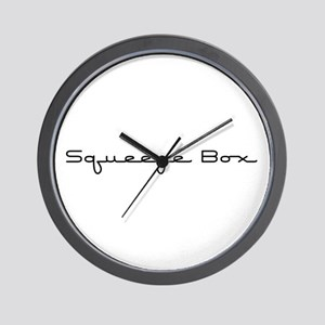 Squeeze Box Wall Clock