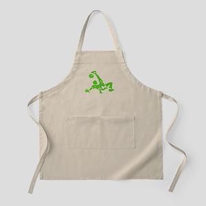 Green Bicycle Kick Apron