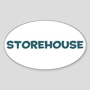 Storehouse Oval Sticker