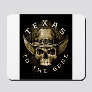 Texas to the bone Mousepad