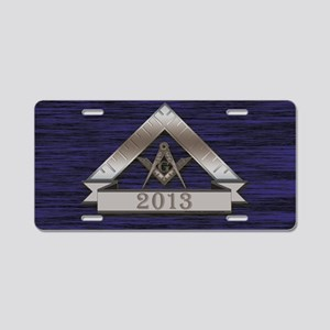 Masters 2013 Aluminum License Plate