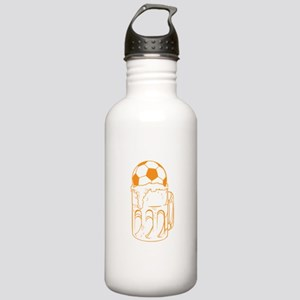 Soccer Ball In Beer Stainless Water Bottle 1.0L