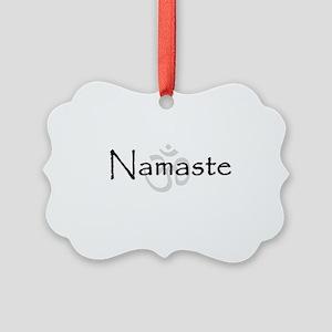 Namaste Picture Ornament
